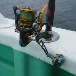 レバーブレーキ(LBリール)のスピニングタイラバでクロソイ連発 福島県長栄丸タイラバ釣行について