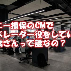 ソニー損保のCMでオペレーター役をしている高橋さんって誰なの?