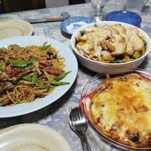 昨日の夕食☘