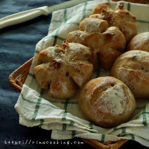 【レシピ】捏ねないパンシリーズ!クルミパンと6月のレッスンについて