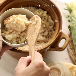 【レシピ】簡単なのに美味しい♡白いトウモロコシの炊き込みご飯(炊飯器でOK)