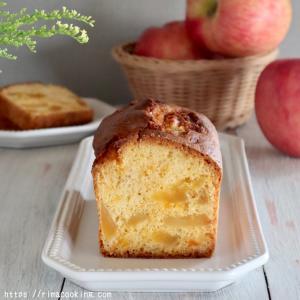 【レシピ】りんごのオイルパウンドケーキ~生地編~