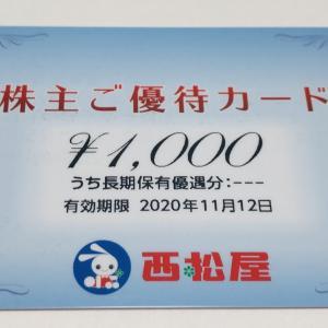 【2020年5月】西松屋の株主優待カードが届きました♪