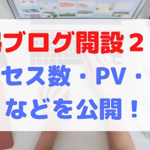 【雑記ブログ開設2カ月】初心者主婦のアクセス数・PV・収益など運営報告!