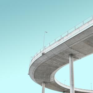 わたしと双子だけで初めての高速道路