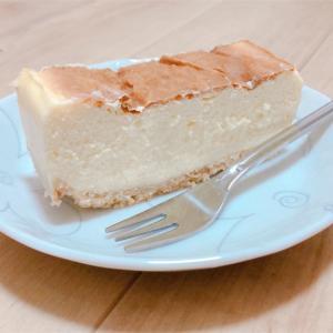 おやつにチーズケーキ