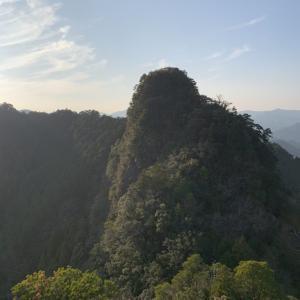 嶽ノ森山/関西百名山(ルート)道の駅一枚岩~周回|関西登山記