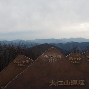 大江山(千丈ヶ嶽)/関西百名山〔ルート〕鬼嶽稲荷神社コース|関西登山記