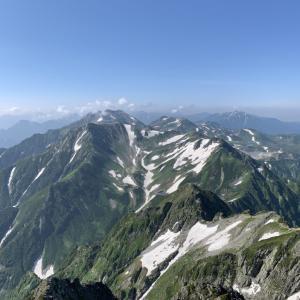 立山・剣岳/テント泊登山【一泊二日】〔ルート〕室堂~周回
