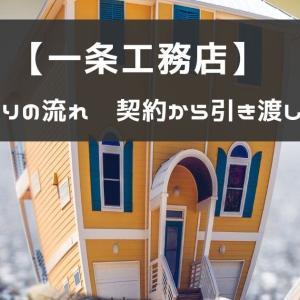 【一条工務店】家づくりの流れー契約から引き渡しまでー