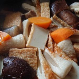 【作り置き】厚揚げとちくわの煮物