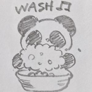 【イラスト】今日は手洗いの日