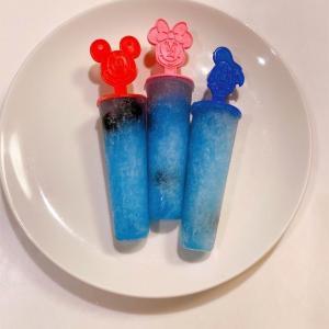 自由研究の時期ですね!ブルースピルリナを使ってガリガリ君ソーダ味のアイスを作ってみました