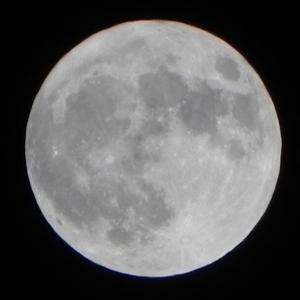 「46年ぶり」ハロウィンの夜に満月(月が綺麗ですね)