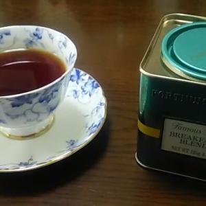 「フォートナム・アンド・メイソン(FORTNUM & MASON)」の紅茶を飲んでますよ