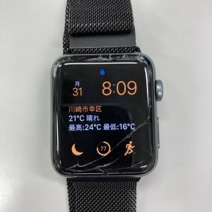 【Apple Watch】液晶にヒビが!どうする?