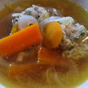 鶏団子スープ 02 豆腐による増量無し
