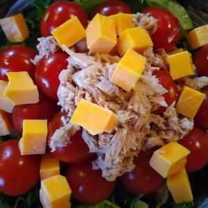 ツナチーズ野菜サラダ