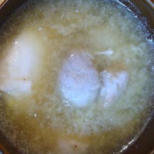 小芋卵味噌汁