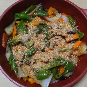 蒸し焼き野菜胡麻まぶし