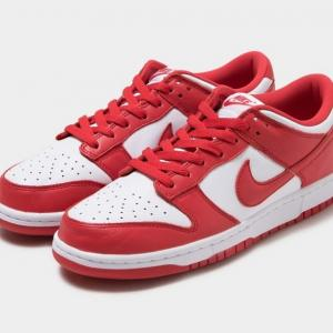"【セント・ジョーンズ】NIKE DUNK LOW ""UNIVERSITY RED"""