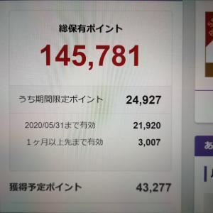 5/8の楽天ポイントは145,781P!楽天市場で獲得ポイントを常時アップできる方法を公開中!