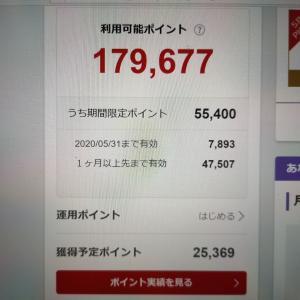 お買い物マラソンで獲得したポイントは30,000Pに到達するか!?