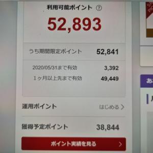 楽天ポイント10万円分が消えた・・・。からの来月には一時回復か?