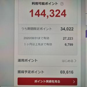 お買い物マラソン開始までに終わらせたいことがある!?現在4,725,709P貯まってます!!