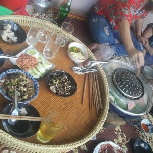 タイ田舎風野外パーティー  プーケットのタクシー屋のオヤジの戯言