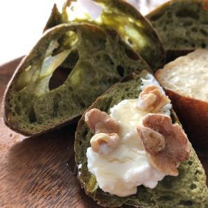 ●はちみつ胡桃とカッテージチーズ