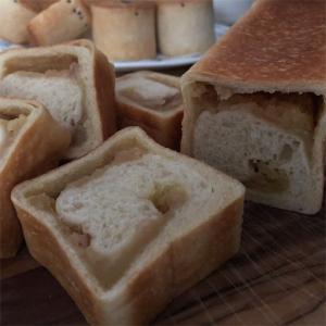 ●梅酒りんごとスイートポテト3種のパン