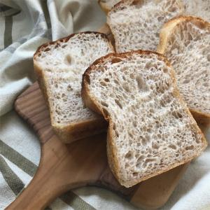 ●米粉と全粒粉のハードトースト*レシピ