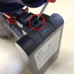 バッテリーが寿命?ダイソン掃除機バッテリーとフィルター交換!