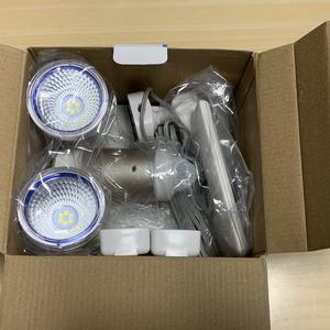 電源要らない「ムサシ 3W×2 LED ソーラー センサーライト」へ買い替え!