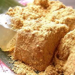 わらび餅を120倍美味しくする方法😍きな粉は魔法の粉💘
