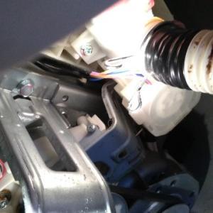 洗濯機の排水ホースから水漏れ。DIYで修理完了☆