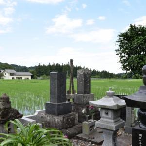 実家のお墓の掃除をシルバー人材センターに依頼しました