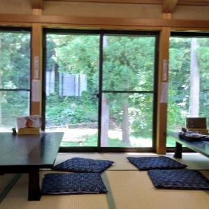 宮城県七ヶ宿町「農民そばや」芭蕉庵に行ってきました。