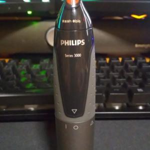 水洗いができる鼻毛カッター、フィリップス NT3162/10のレビュー