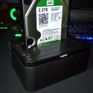内蔵HDDを外付けHDDにするやつ ロジテックLGB-2BDPU3ES