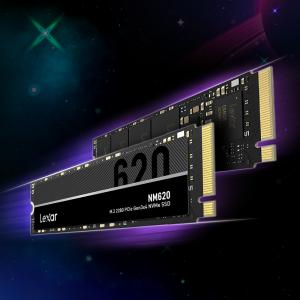 「Lexar」、最大速度3,300MB/sで5年保証付きの M.2 NVMe SSD「NM620」に2TBモデル