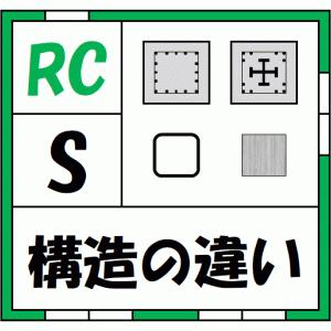 【情報】RC造、S造の構造の違いは何?