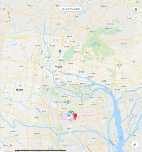 中国主張 ホテル滞在記 広州郊外の町番禺HOTEL PANYU