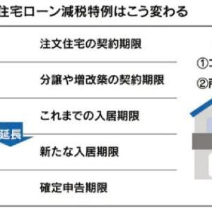 【その1】住宅ローン特例は本当に得なのか 経済対策に称賛の嵐?