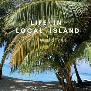 【モルディブ・ローカル島生活】驚きの生活リズム!夕方シャワーの謎
