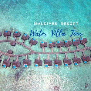 【モルディブ・リゾート紹介】ハイダウェイビーチリゾートの水上コテージ