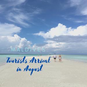 【ウィズコロナのモルディブ】2020年8月の観光客数、前月から約5,000人増!
