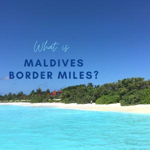 【世界初】モルディブ旅行でマイルが貯まる!20年12月からモルディブボーダーマイルが開始