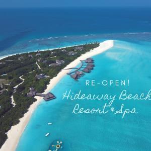 【嬉しいお知らせ】ハイダウェイビーチリゾート、約7ヶ月ぶりに再オープン!